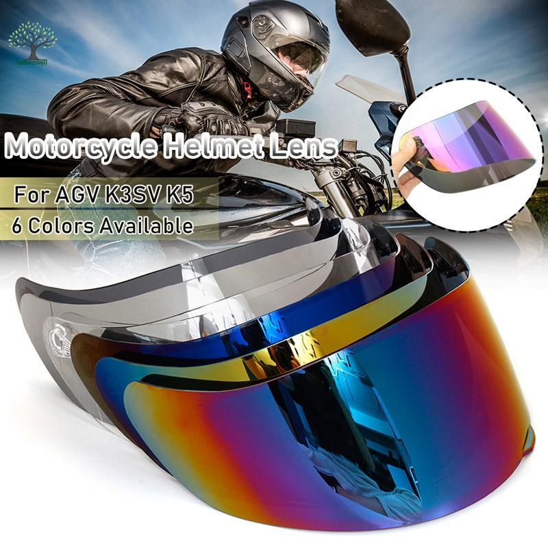 For AGV K1 K3SV K5 Helmet Motorcycle Wind Shield Helmet Lens Visor Full Face