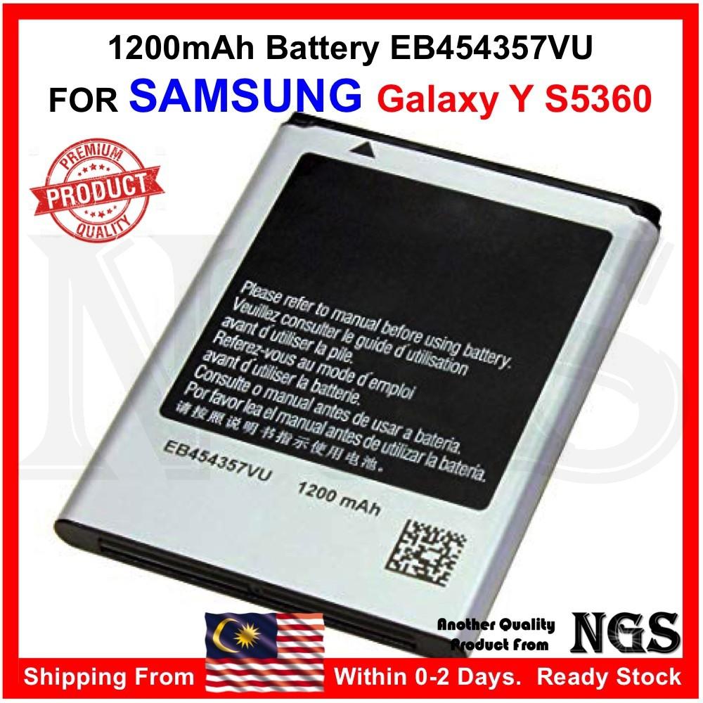 Brand New 1200mAh Battery EB454357VU for Samsung Galaxy Y S5360
