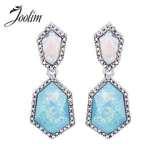 271872788b623 JOOLIM Jewelry Light Blue Women Earring Gift | Shopee Malaysia