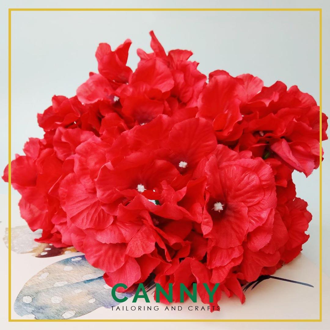 Bunga Hydrangea Gred Pelamin SUPER Gebu 5 Kepala/Hydrangea Flower Premium Quality 5 Head (1 Bouquet)