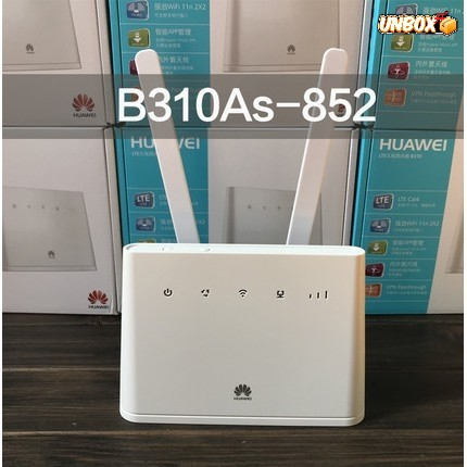 Unlimited MODIFIED Huawei 4G Router B310AS-852 +2PICS Antenna Malaysia  Adapter