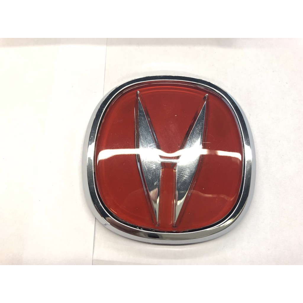 Honda Acura JDM RED Emblem LOGO BUDGE INTEGRA