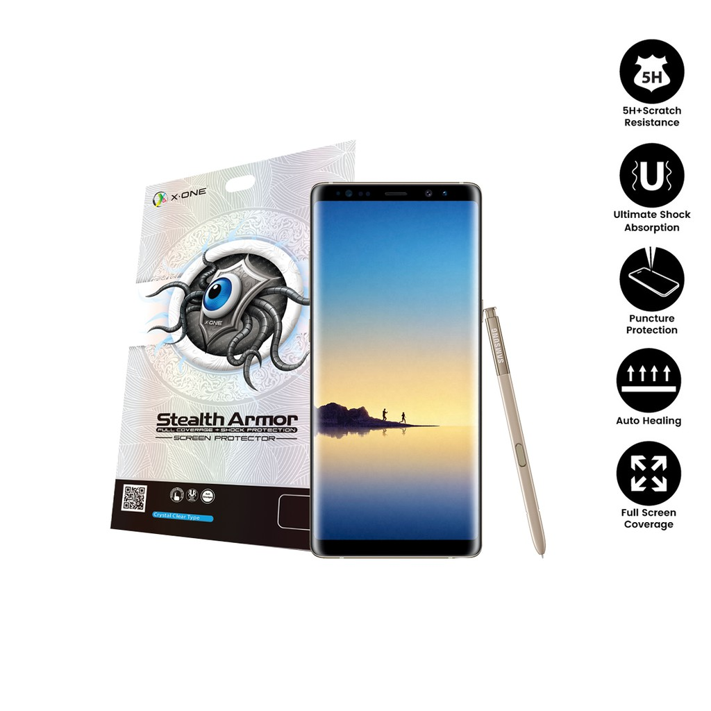Samsung Note 8 ( N950F ) X-One Stealth Armor Screen Protector