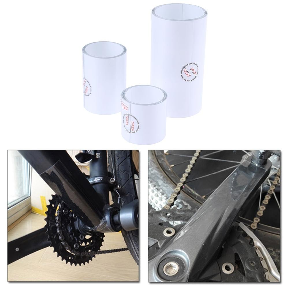 MTB Road Bike Frame Protection Film Bicycle Anti Scratch Clear Sticker Roll Tool