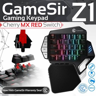 GameSir Z1 Bluetooth Wireless Gaming Keypad For Phones One-handed