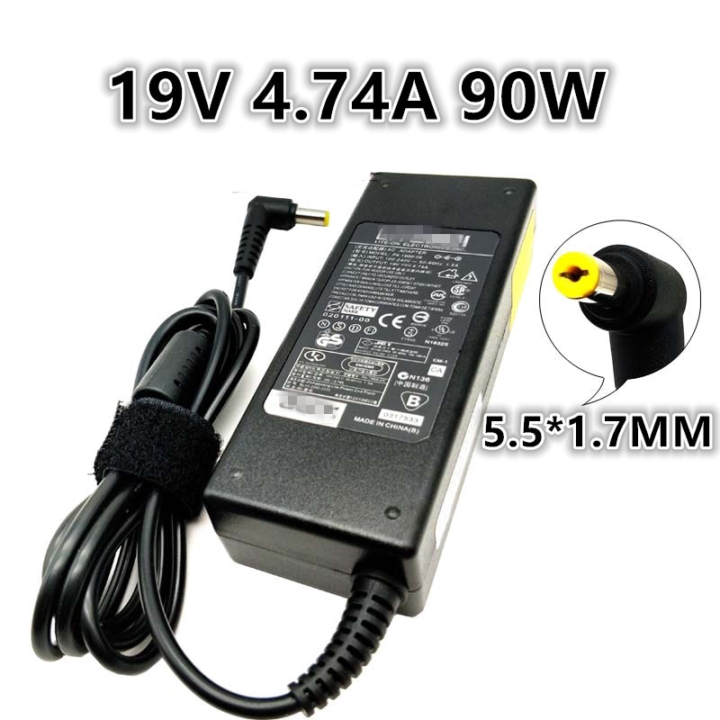 Acer Aspire19V 4.74A 90W Power Adapter Charger 5.5*1.7mm 5610 BL50 5750 4750