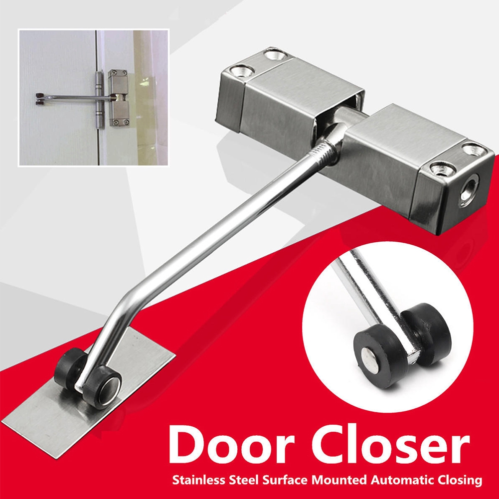 Surface Mounted Door Gate Closer Outdoor Spring Adjustable Automatic FireRated