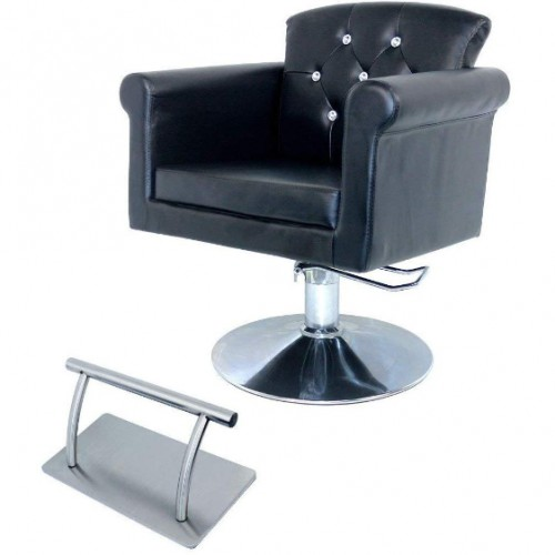 Stainless Steel Salon Chair Footrest