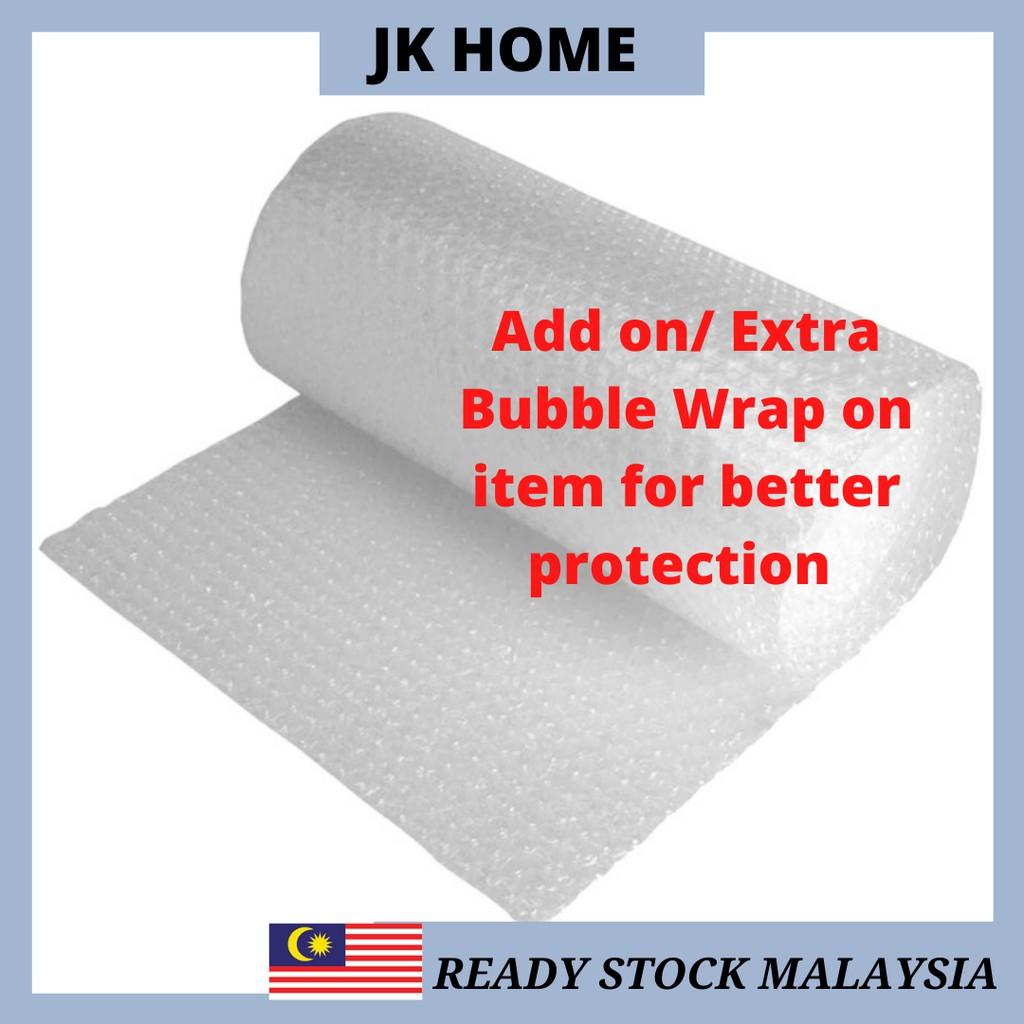{ADD ON} Extra Bubble Wrap Packaging Safety Extra Protection 1M