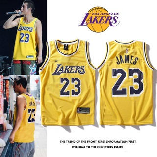 low priced e3709 ad3e6 NBA Lakers James jerseys Zijin 23 home jerseys male/female uniforms