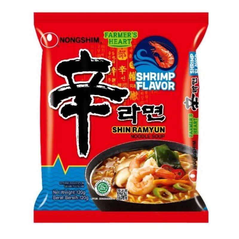 Nongshim Shin Ramyun Single Pack 120g [Halal]