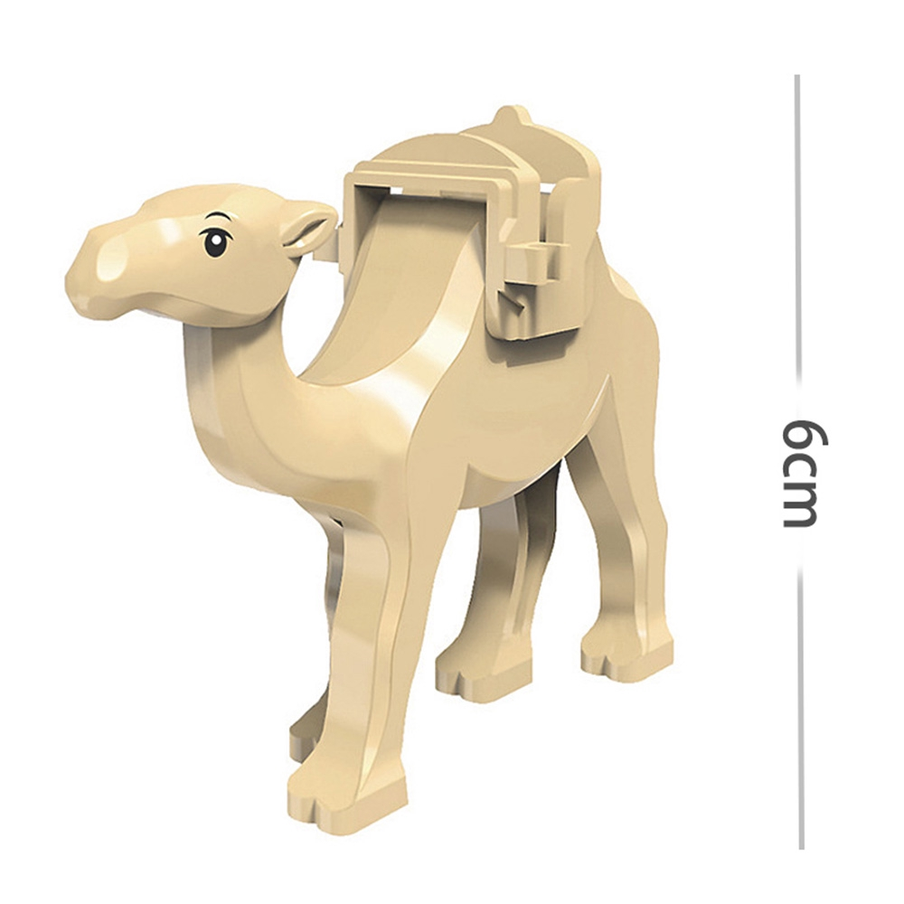 DIY Mini Building Block Camel Shark Bricks Model Children Kids Educational Toy