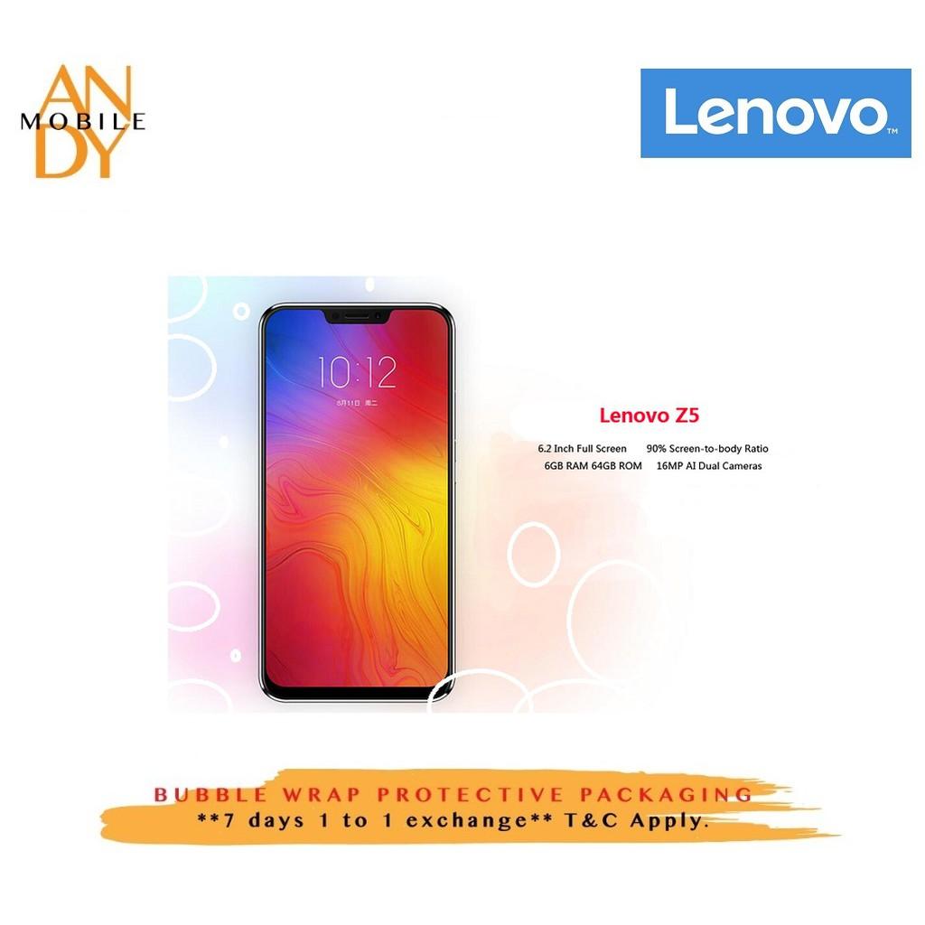 Lenovo Z5 Price in Malaysia & Specs | TechNave