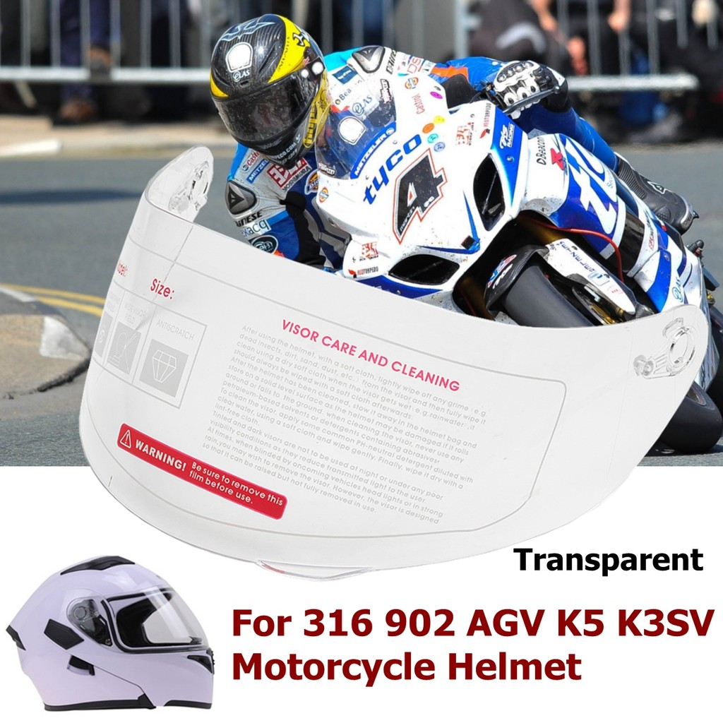 d3213fb5 Motorcycle Helmet Glass Anti-scratch Replacement Full Face Shield Visor |  Shopee Malaysia