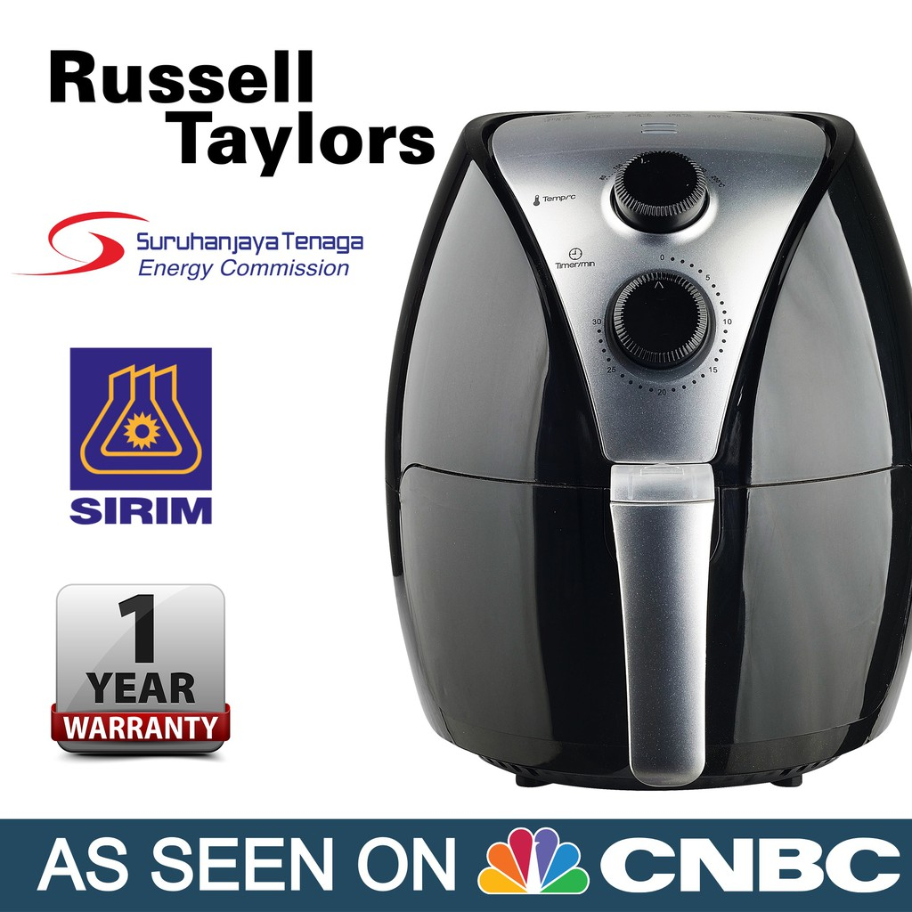 Russell Taylors Air Fryer Large 3 8l Af 24 Shopee Malaysia