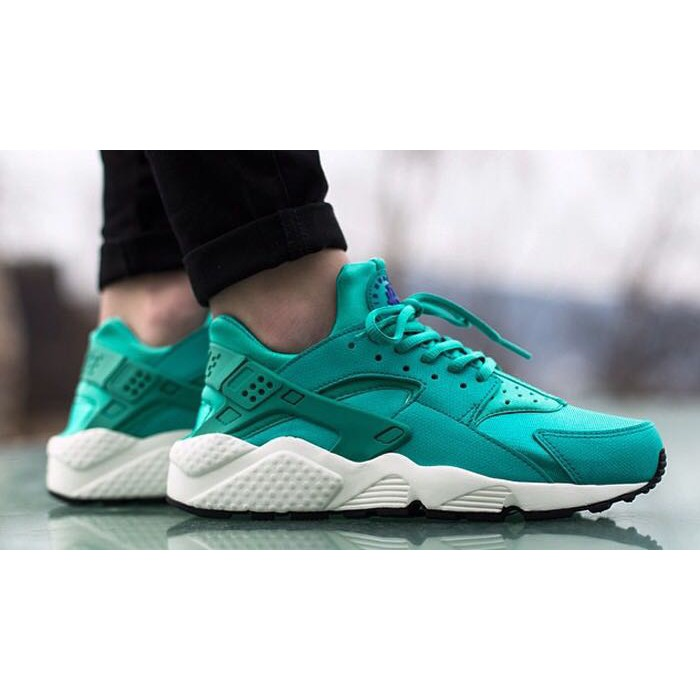 free shipping 63329 c2eb9 Ready Stock Nike Air Huarache 1 Womens Shoes Casual Shoes Breathable Mint  Green