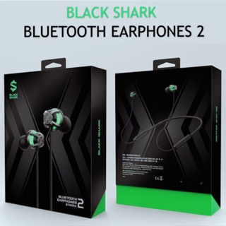 Black Shark Bluetooth Earphones 2 Be16 Shopee Malaysia