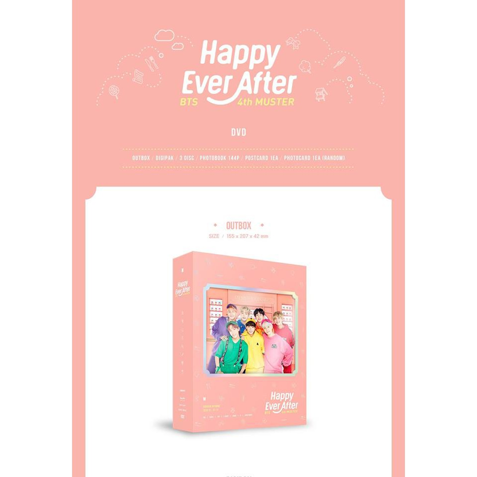 [PRE-ORDER] BTS 4th MUSTER [Happy Ever After] DVD/BLU-RAY
