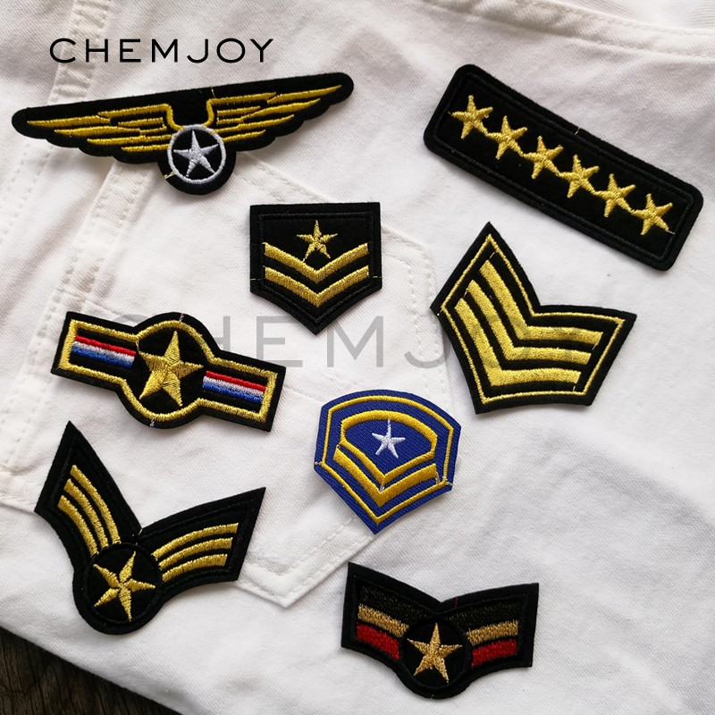 Badges Home & Garden New Fashion Israel Flag Star Wars Military Tactical Embroidery Army Morale Badge Armband 10 Style