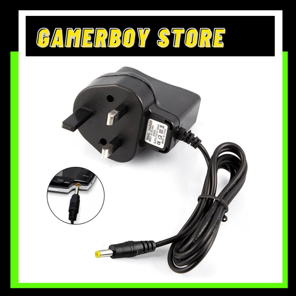 PSP 1000/2000/3000 3PIN ADAPTOR/PSP CHARGER