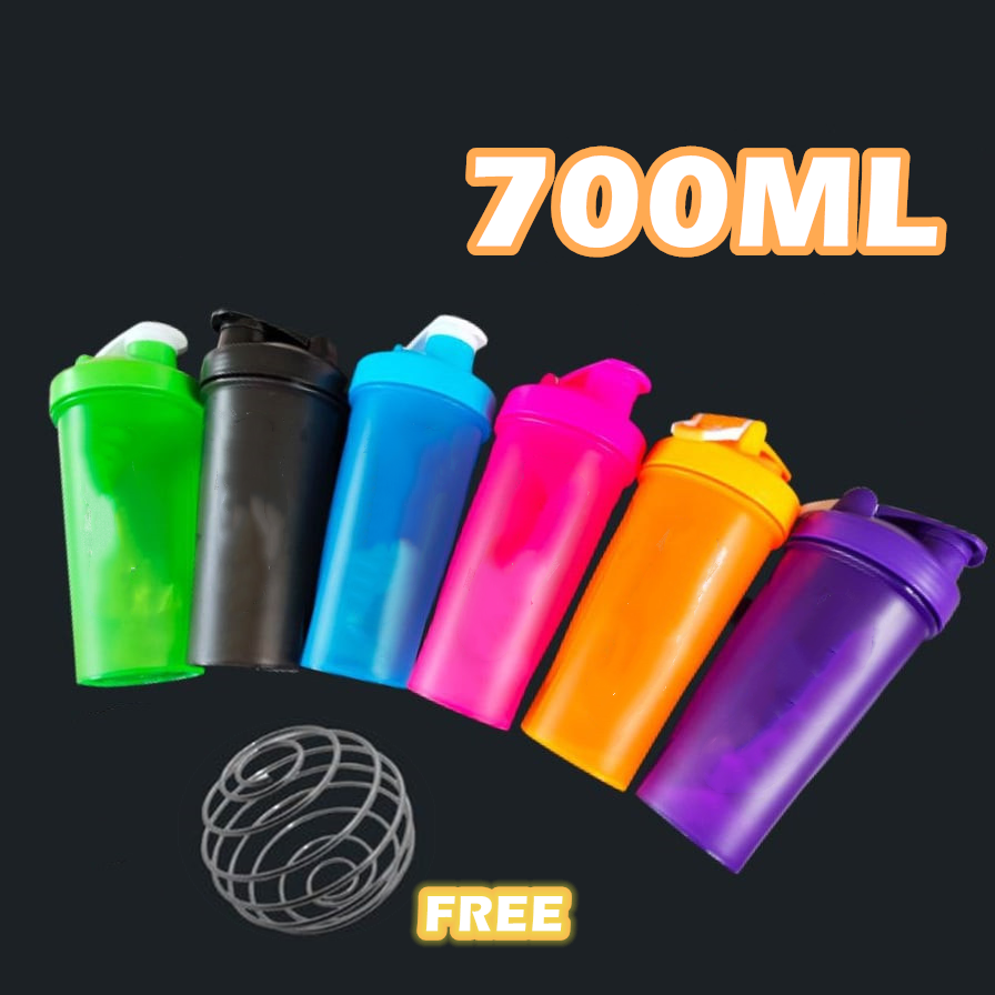 700ml Large Shaker Herpalive Shakes Protein Powder Fitness Bottle Nutrition with Stainless Steel Bal