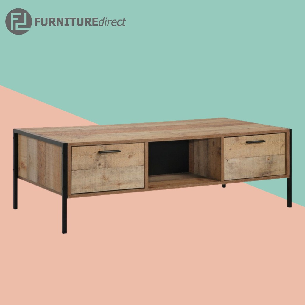 [CLEARANCE] Hoxton industrial design metal frame coffee table/ coffee table industrial