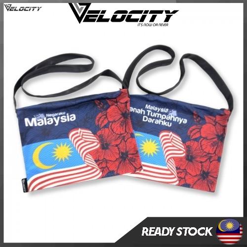 [READY STOCK] Velocity Velocool Sport Sling Bag Bunga Raya For Men or Women