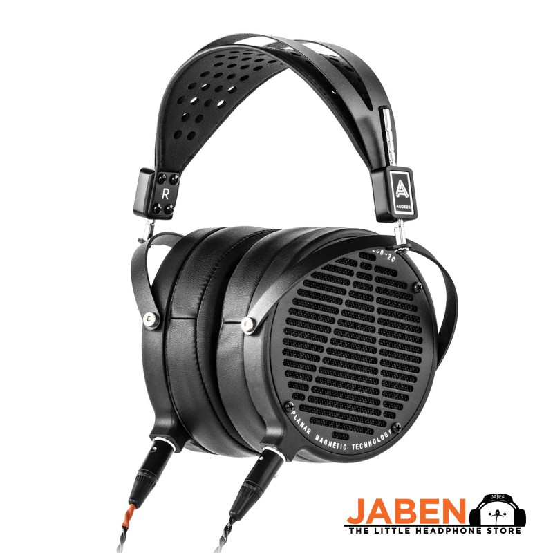 Audeze LCD-2 Classic Planar Magnetic Hi-Res Made in USA Detachable Cable Open Back Over-Ear Headphones [Jaben]