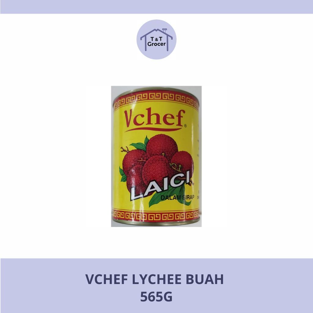 Cap VCHEF Lychee Buah (565g)