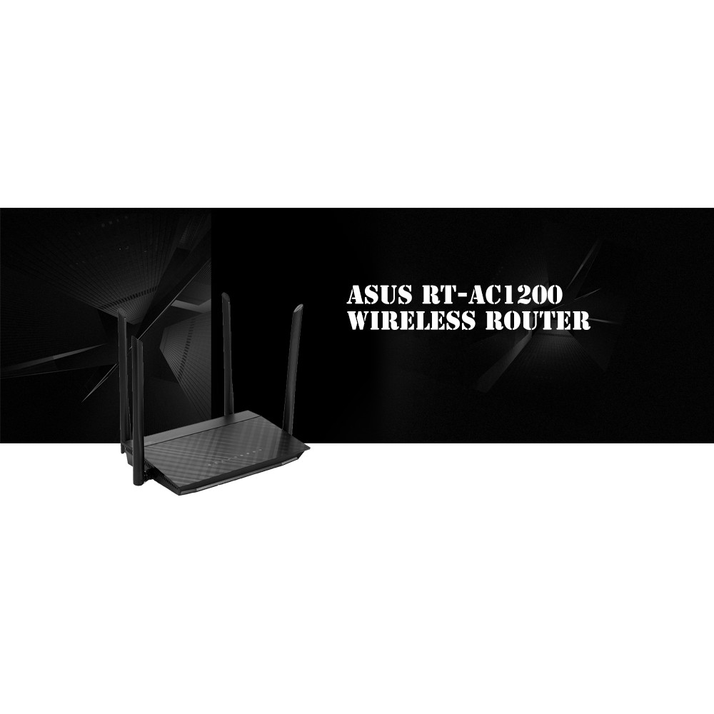 ASUS RT-AC1200 Wireless Router 2 4GHz / 5GHz Network WiFi