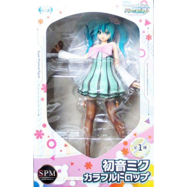 Japanese Anime VOCALOID HATSUME Miku  Figure Toy Project DIVA Arcade Furure Tone