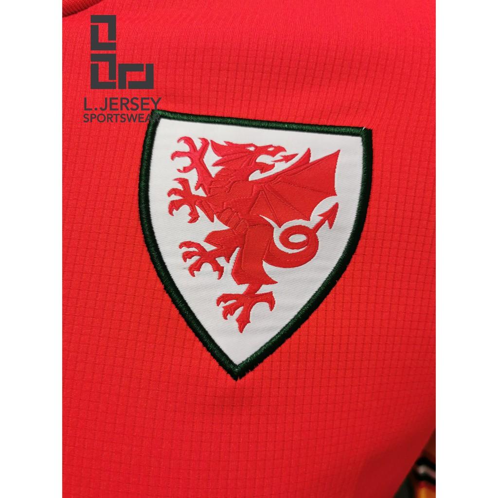 Wales Men Home Euro Cup Season 20/21 CLIMALITE Fans Jersey