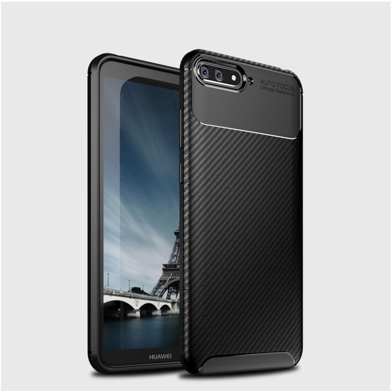 Case For OPPO A5 A3S AX5 Cover Fiber Ultra Shockproof Soft TPU Brushed Back Case | Shopee Malaysia