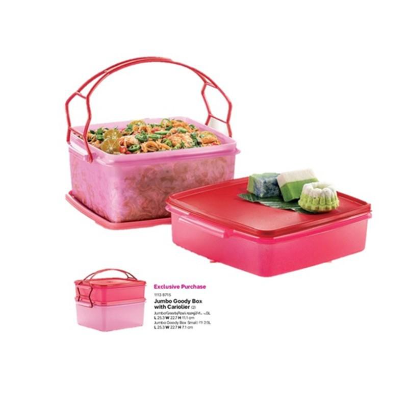 jumbo goody box with cariolier tupperware