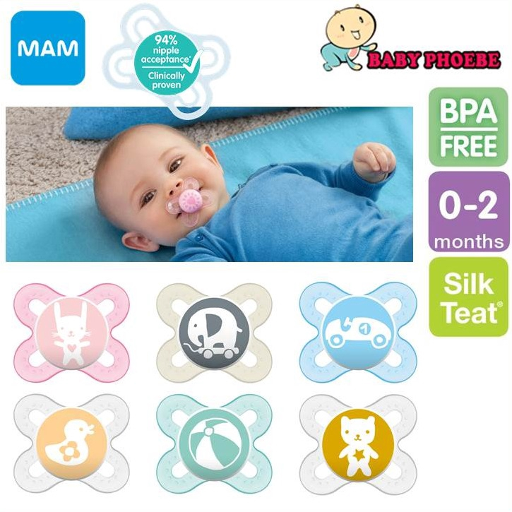 MAM START 0-2M SOOTHER NEW