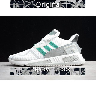 size 40 2e34e 6d427 Adidas EQT Cushion ADV white green men mesh breathable sport ...