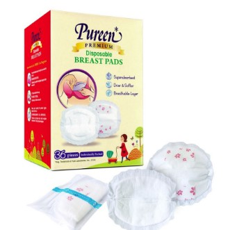 Pureen Breast Pads (Disposable) 36pc