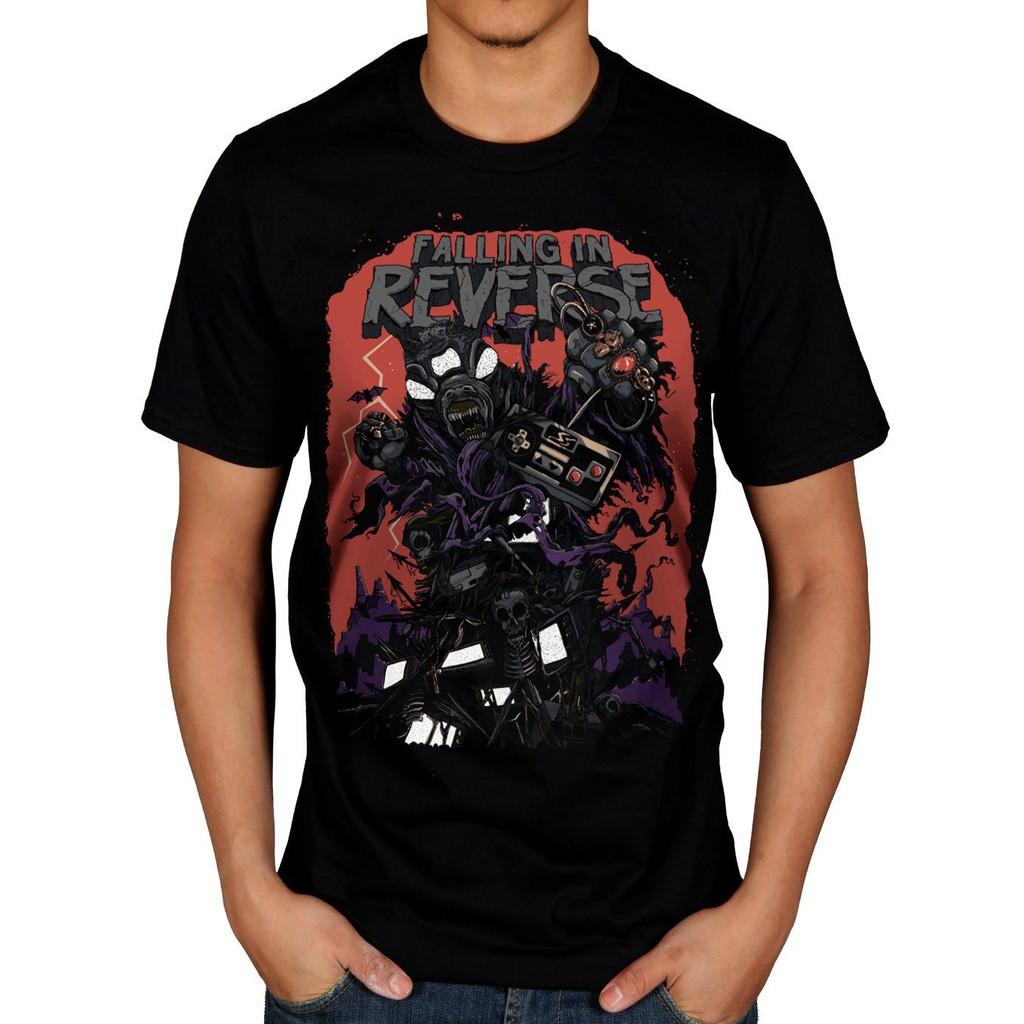 Gildan - Falling In Reverse Video Game T-Shirt Rock Band Fan Merch Hardcore