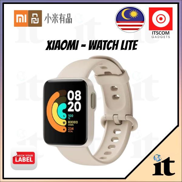 Xiaomi Mi Watch Lite Smartwatch | Stylish 1.4 INCH Color Display | 100% Original Warranty By Mi Malaysia