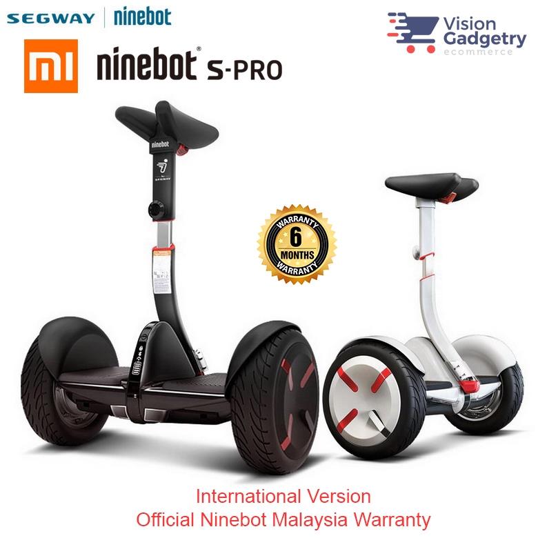 XiaoMi Mi Segway Ninebot S-PRO Self Balancing Scooter International Version