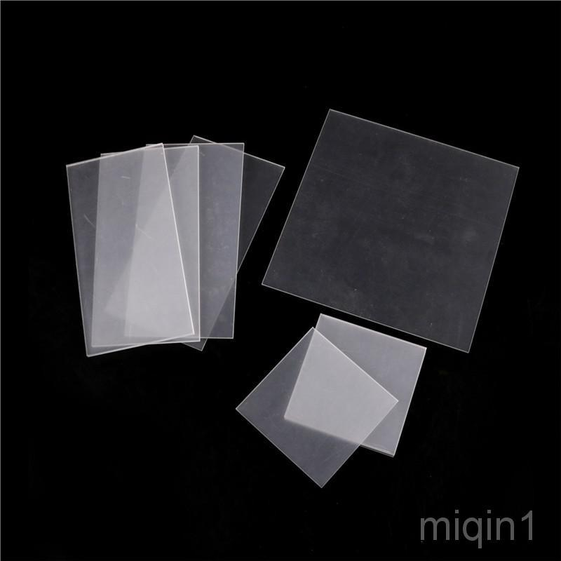 Clear Acrylic Perspex Sheet Cut To Size Plastic Plexiglass Panel DIY 1.5 cby