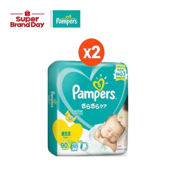 Pampers Baby Dry Tape / Pants กางเกงผ้าอ้อมเด็กทุกไซส์ (ใช้ได้ทั้งสำหรับเด็กชายและเด็กหญิง)  บรรจุ 2 แพ็ค p&g