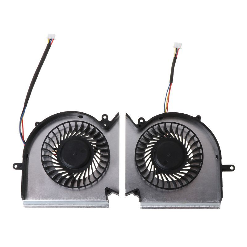 NEW CPU GPU Cooling Fan For MSI GE63VR MS-16P1 GE73VR MS-17C1 N383 N384