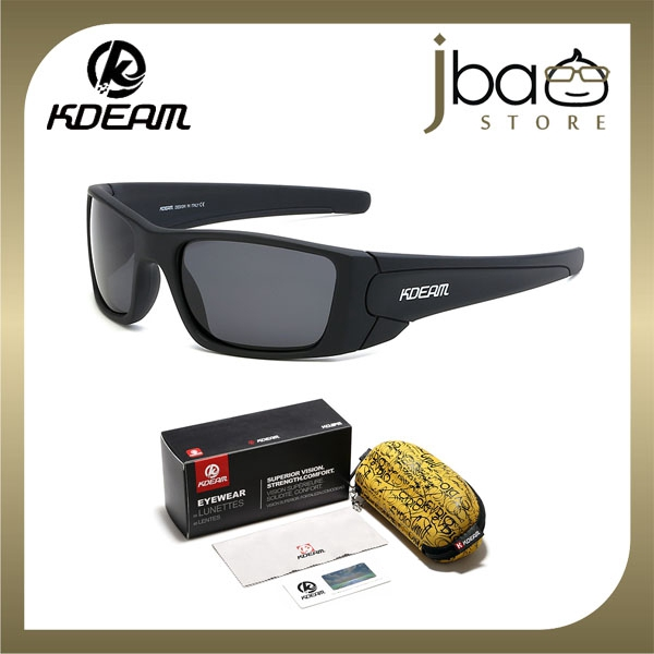 KDEAM Polarized Sunglasses Outdoor Sport Cycling KD555-C1