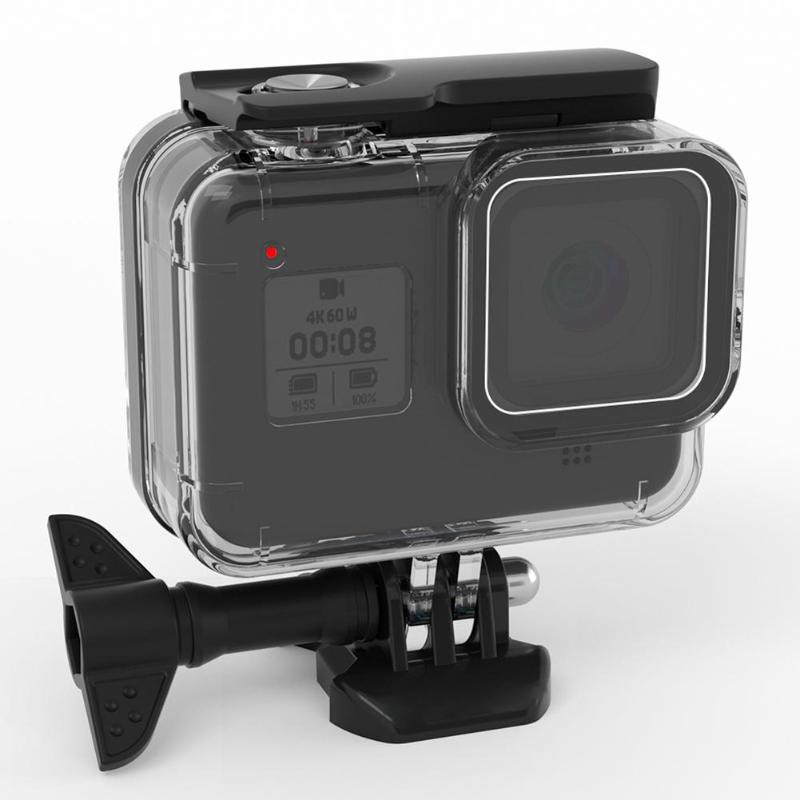 For Gopro 8 Camera Diving Protective Case Cover Underwater Waterproof Housing