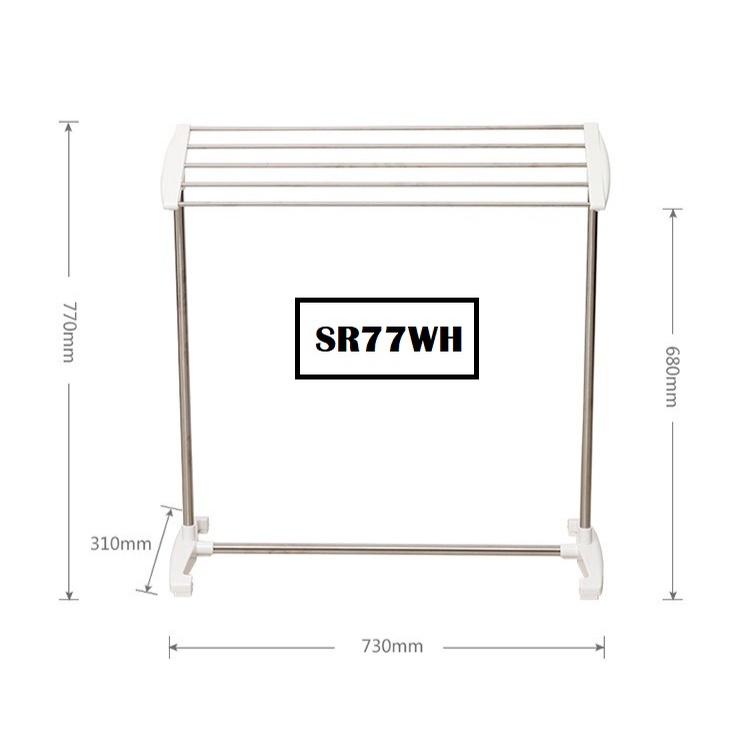 [ READY STOCK ]  Multifunctional Towel Drying Bathroom Storage Shelf Rack Furniture Perabut Hang Baju Jualan Murah Box