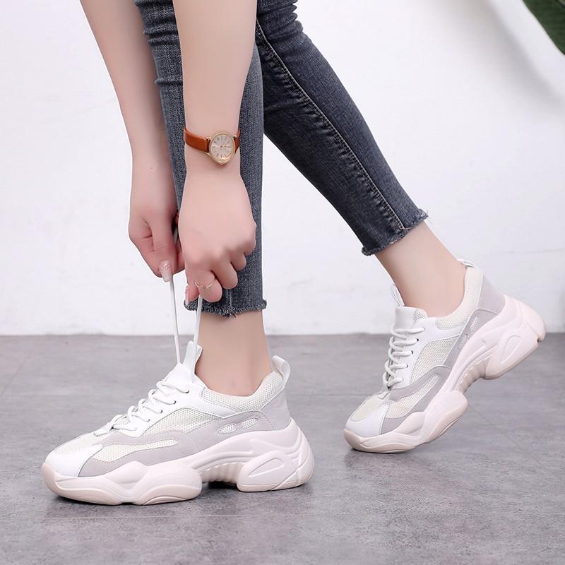 【สต็อกพร้อม】EU35-40 รองเท้าแพนด้าระบายอากาศสบาย ๆ รองเท้าเก่ารองเท้าโชว์รองเท้า รองเท้า รองเท้า