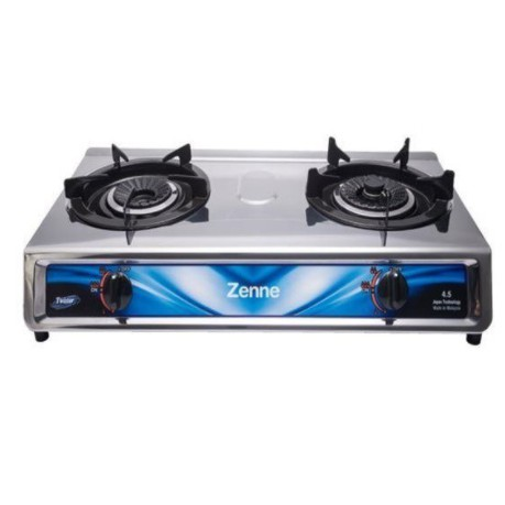 Zenne Twister Burners Stainless Steel Gas Stove Gas Cooker - KGS 301C