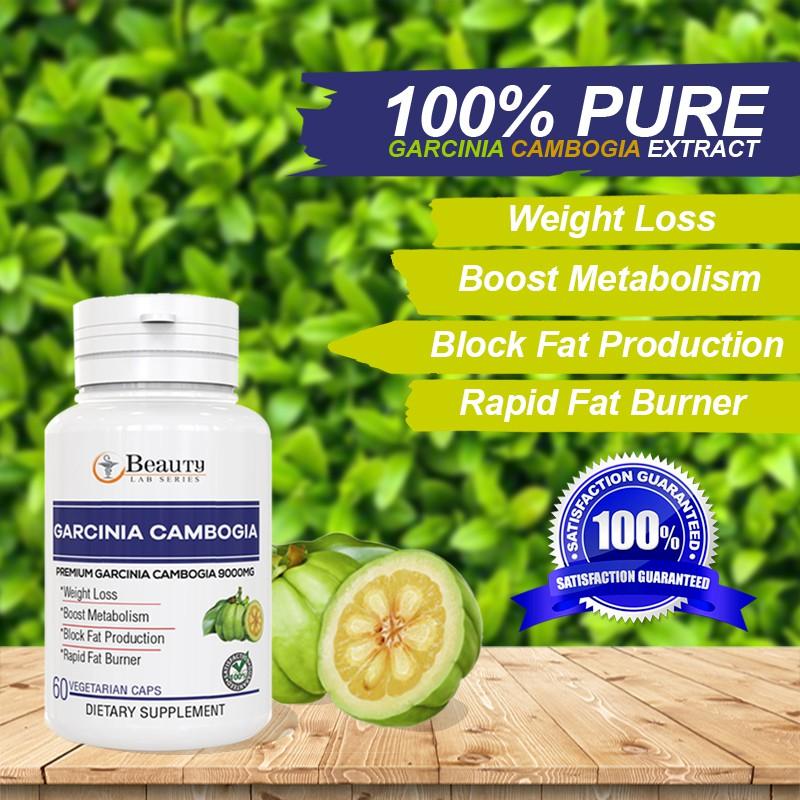 Original Ready Stock 3x Bottle Combo Garcinia Cambogia Premium Herbs 60 Capsule 9000mg Fat Burder Weight Loss Shopee Malaysia