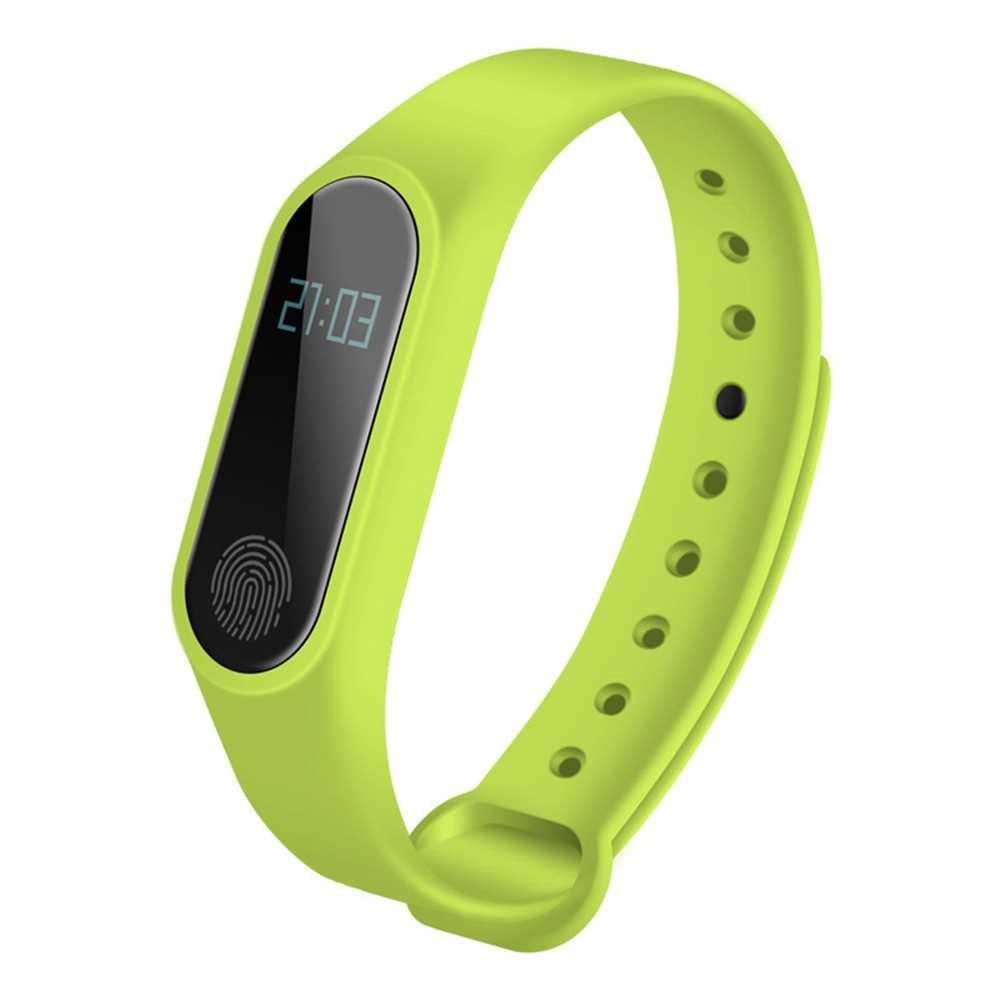 M2 smart bracelet Bluetooth synchronous motion meter step bracelet gift custom heart rate BT bracelet a generation purp